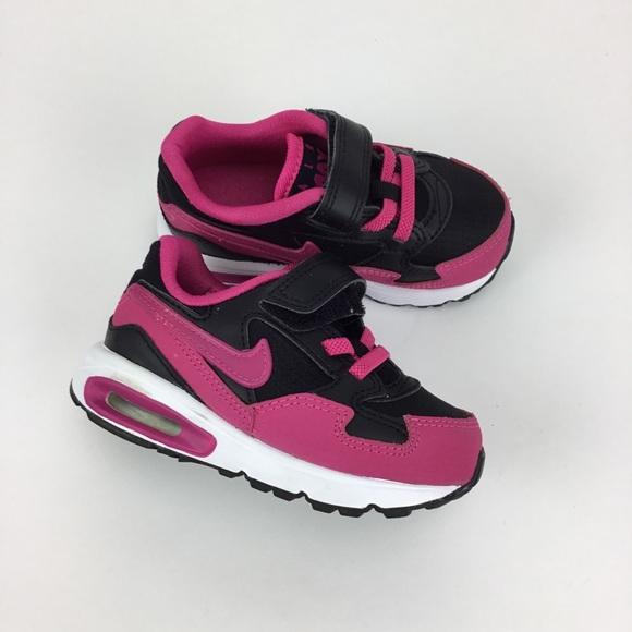 Nike Air Max Baby Girl Black Pink 7C